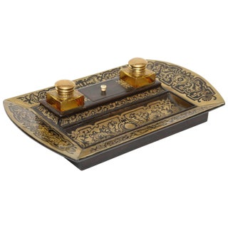 Fine 19th Century Boulle Inkstand For Sale