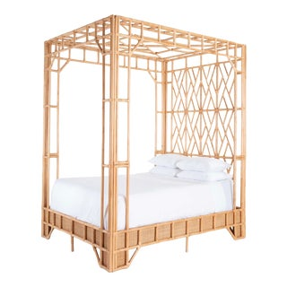 Paradise Canopy King Bed For Sale