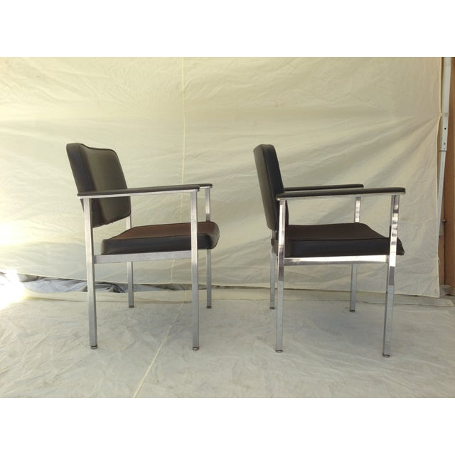 All Steel Co. Office Club Chairs - A Pair - Image 3 of 8