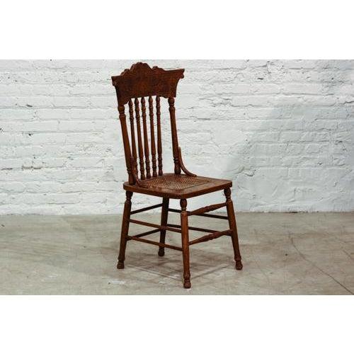 Vintage Press Back Chair - Image 2 of 4