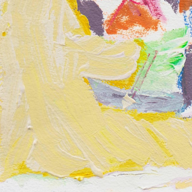 Signed center left, 'Canete' for Robert Canete and painted circa 2000. A vibrant Expressionist-style marine painting...