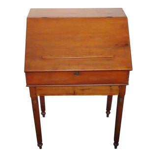 Early 19th Century Pennsylvania School Masters Desk For Sale