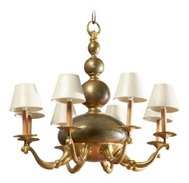 Image of Newly Made Bronze Chandeliers