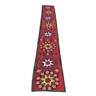 Colorful Handmade Suzani Table Runner