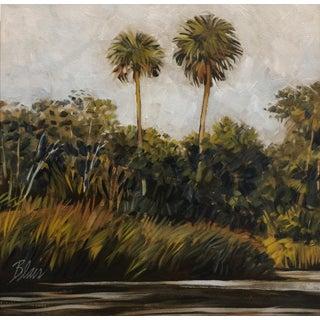 "Blair Contemporary Landscape ""Cabbage Palms"" For Sale"