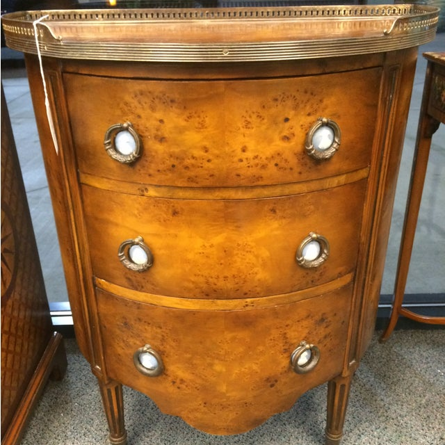 1850's Entry Table with Jasper Faced Pull Handle - Image 2 of 8