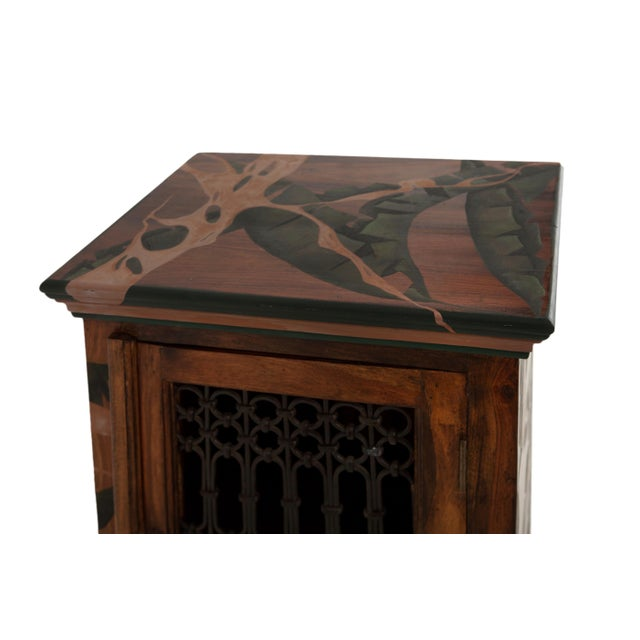 Strangled, Hand-Painted Cabinet by Atelier Miru For Sale - Image 4 of 5