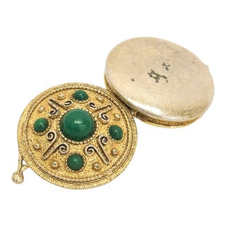 Gold and Green Florenza Box