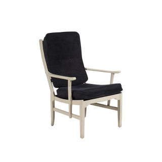 1964 Carl Malmsten Rare Signed 'Mabulator' Easy Chair For Sale
