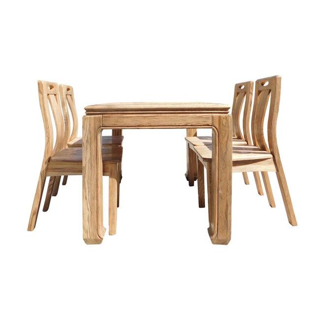Light Wood Dining Set - Image 4 of 6
