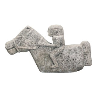 Vintage Indonesian Stone Sumba Horse For Sale