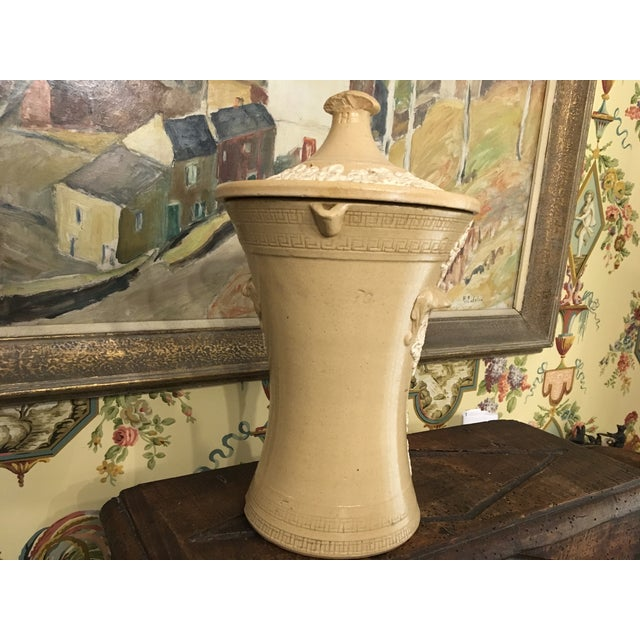 Ceramic 19th Century Antique English Water Filter For Sale - Image 7 of 13