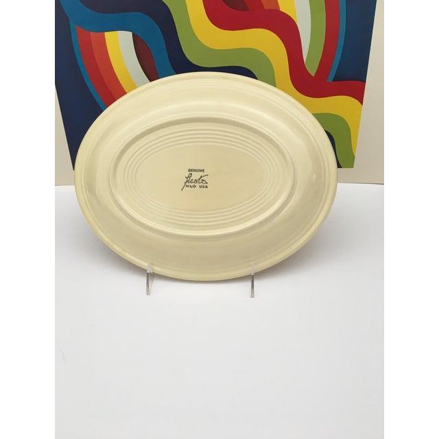 Vintage Mid-Century Fiesta Fiestaware Platters - Set of 3 For Sale - Image 9 of 10