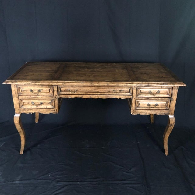 Country French Provincial Desk by Guy Chaddock For Sale - Image 13 of 13