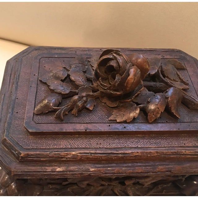 Black Forest Black Forest Hinged Box For Sale - Image 3 of 11