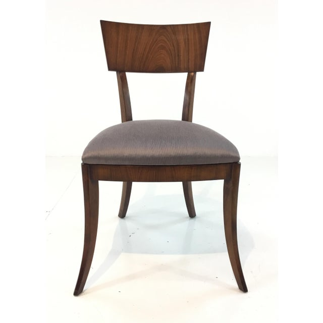 Wood Modern Klismos Emerson Roswood Side Chair For Sale - Image 7 of 7