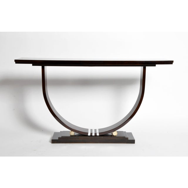 Mid-Century Style Side Console For Sale - Image 11 of 11