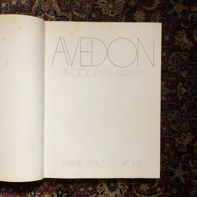 Signed First Edition, Avedon: Photographs 1947-1977 For Sale - Image 9 of 11
