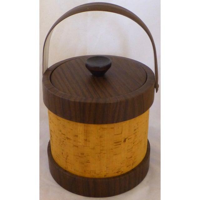 Vintage Cork Ice Bucket - Image 9 of 9