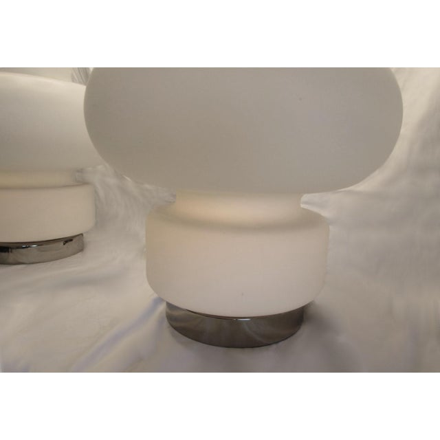 1970s Mid-Century Modern Bobo Piccoli for Laurel Table Lamps With No Shades- a Pair For Sale In Miami - Image 6 of 7
