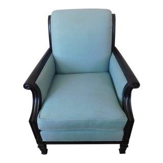 Bernhardt Cottage by Martha Stewart Blue Arm Chair