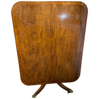Regency Breakfast Table Tilt Top Mahogany & Rosewood Banded, Circa 1810 For Sale
