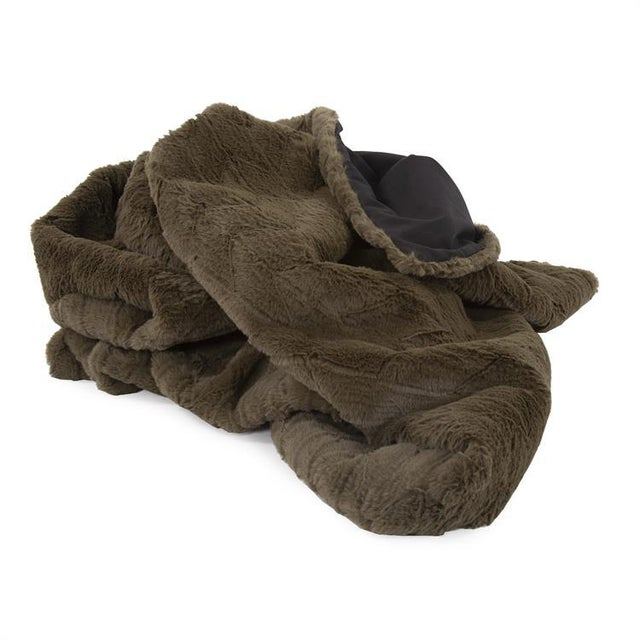The Moss Angora Throw Wrap yourself up in the supreme luxury of our Angora Faux Fur Throw. This luxurious faux fur throw...