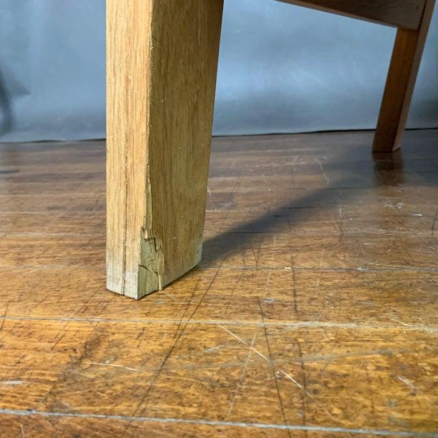 Hans J. Wegner Ge671 Oak & Flag Halyard Lounge Chair, Getama For Sale - Image 10 of 13