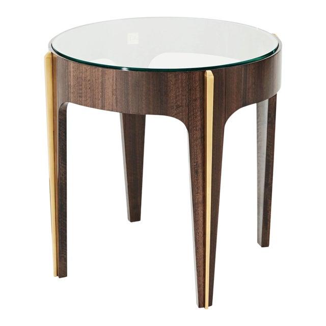 Loggia Showroom Art Deco Modern Side Table For Sale