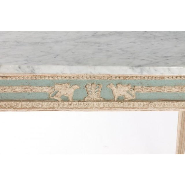 Early 19th Century Swedish Empire Console For Sale - Image 4 of 10