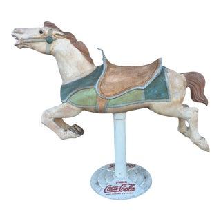 Vintage Coca-Cola Carousel Horse For Sale