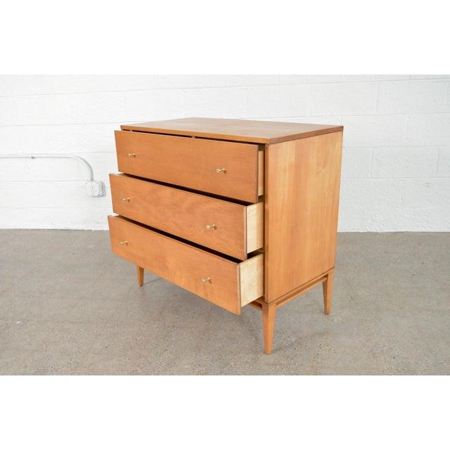 Mid Century Paul McCobb Planner Group Three-Drawer Dresser For Sale - Image 9 of 11