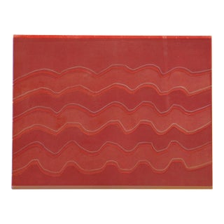 Wyona Diskin Red Waves For Sale