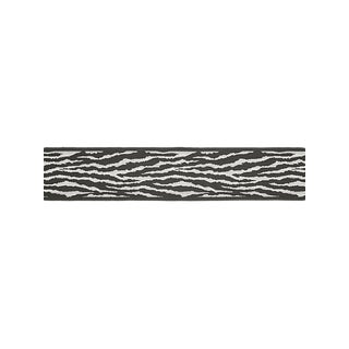 Scalamandre Tiger Tape, Charcoal For Sale