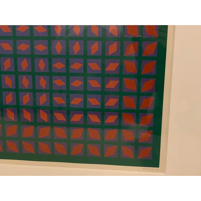 Vintage Abstract Mid-Century Art For Sale - Image 4 of 5