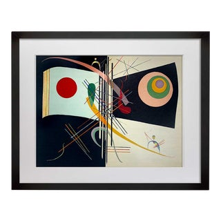 Wassily Kandinsky Lithograph Limited Edition W/Frame Included For Sale