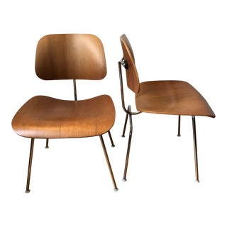 Modern Lcm Eames for Herman Miller Chairs- A Pair For Sale