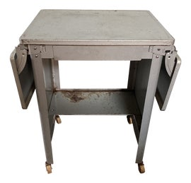 Image of Metal Drop-Leaf and Pembroke Tables