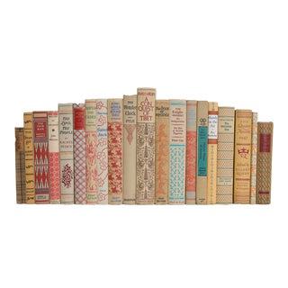 Vintage Sorbet Inspired Book Set, (S/20) For Sale