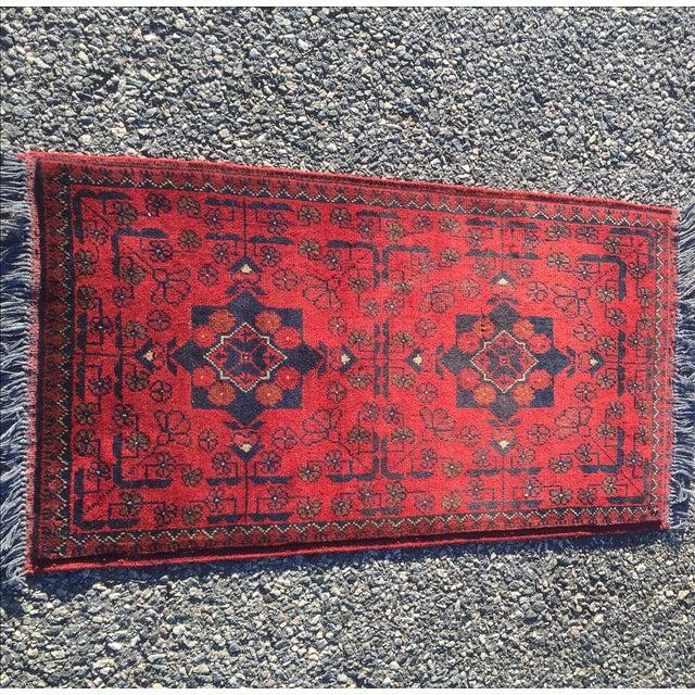 Turkaman Persian Rug - 1′10″ × 3′7″ - Image 2 of 9