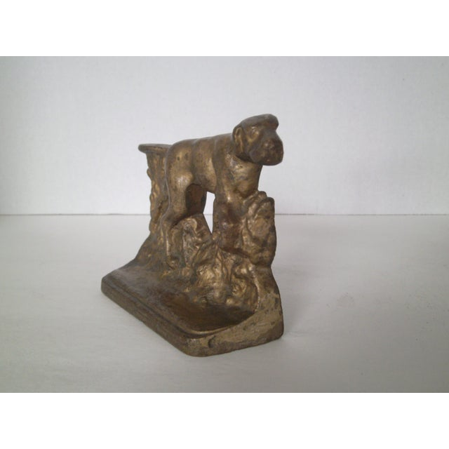 1920s Bronze Pointer Bookends - A Pair - Image 4 of 6