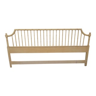 Thomasville Faux Bamboo King Headboard For Sale