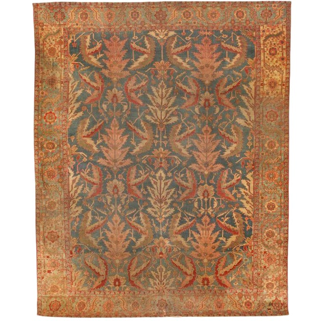 Antique Serapi Carpet For Sale