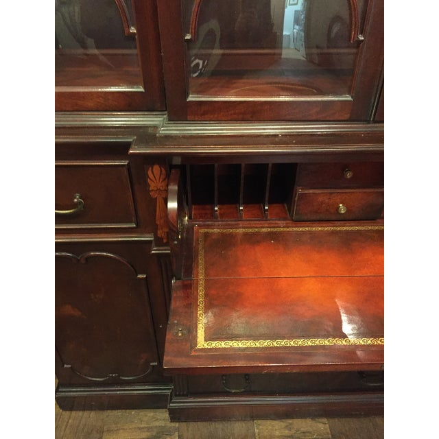 Vintage Mahogany China Cabinet - Image 6 of 10