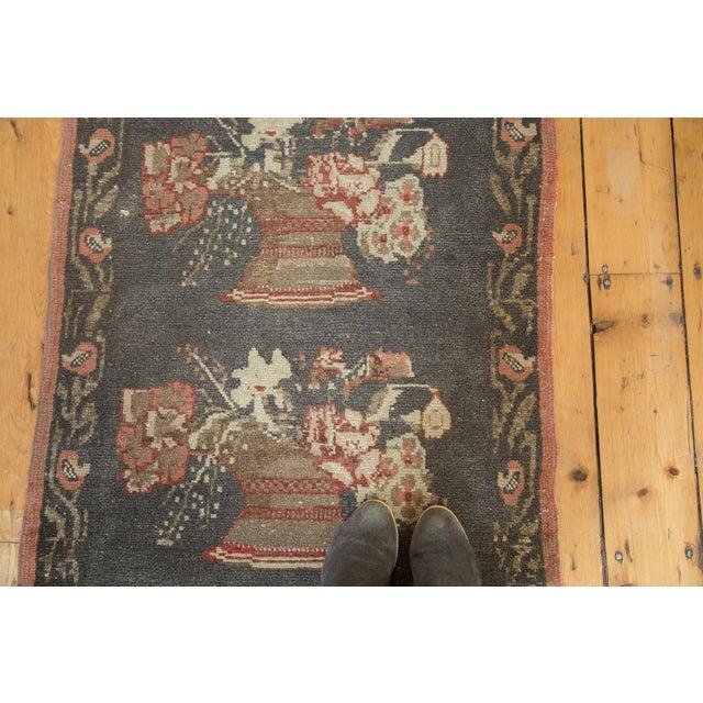 """Textile Vintage Oushak Rug Runner - 2'9"""" x 8'3"""" For Sale - Image 7 of 8"""