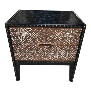 Mid Century Tribal End Table For Sale