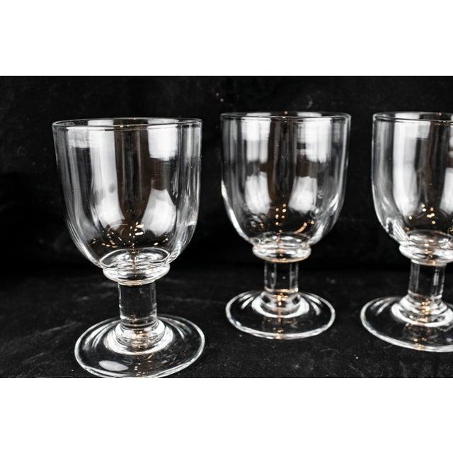 Art Deco Simon Pearce Goblets - Set of 4 For Sale - Image 3 of 13