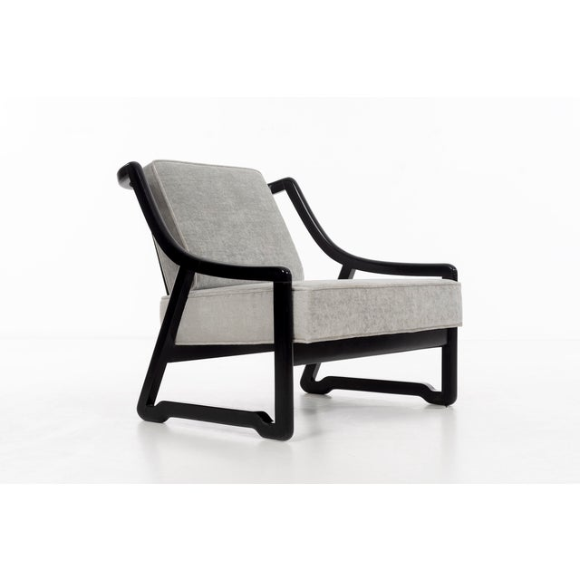 Wood Pair of Paul Laszlo Attributed Lounge Chairs For Sale - Image 7 of 10