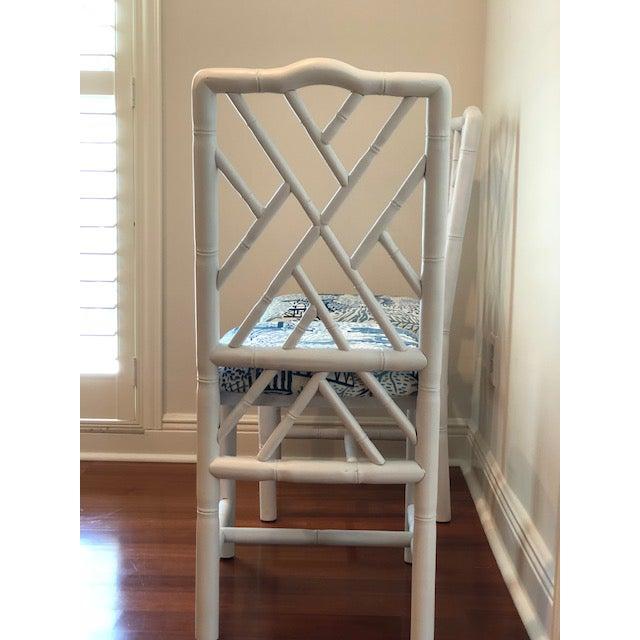 Sarreid Ltd. Sarreid Ltd. Brighton Bamboo Chairs - A Pair For Sale - Image 4 of 6