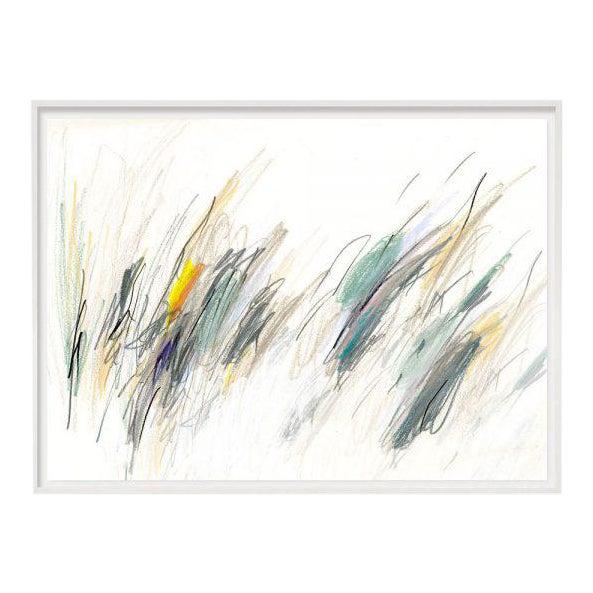 """Blue Notes #4"" Unframed Print For Sale"
